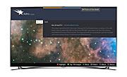 Screenshot von AstroImages, einer App für Smart TVs