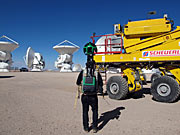 Google Street View an der ALMA AOS