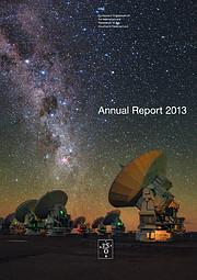 Titelseite des ESO-Jahresberichts 2013