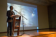 Ceremonia de reapertura de la exposición ESO Una ventana al Universo