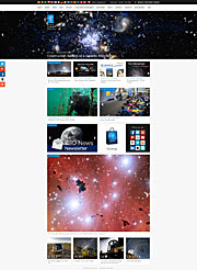 Eksempel på ESOs nye hjemmesider