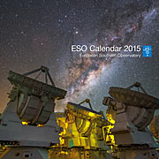 Cover of ESO Calendar 2015
