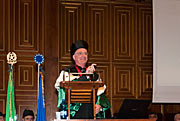 Tim de Zeeuw receives honorary degree from University of Padova