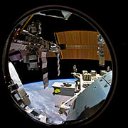 "Image still from the planetarium show ""From Earth to the Universe"""