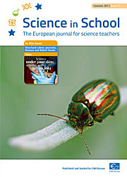 The cover of Science in School issue 33