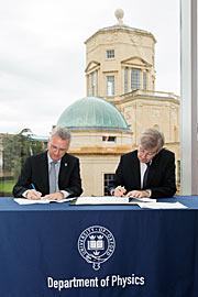 Vereinbarung für den Bau des HARMONI-Spektrografen für das E-ELT unterzeichnet
