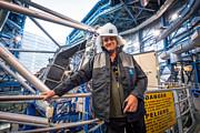 El astrofísico y estrella de rock Brian May visita Paranal