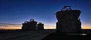 La sagoma dei Telescopi Ausiliari