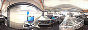 Panoramic view of the VLTI laboratory