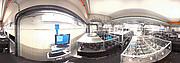 Vista panorâmica do laboratório VLTI