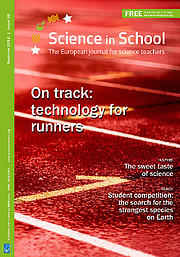 Capa da Science in School nº 36