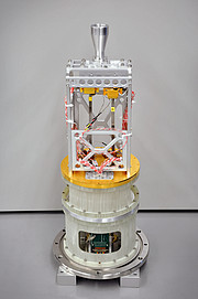 One of the new Band 1 receivers, all of which will be installed on the ALMA telescopes by 2020