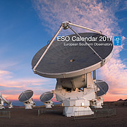 ESO Calendar 2017 cover