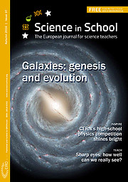 Copertina del n. 37 di Science in School