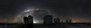 Night-time image from the Paranal webcam