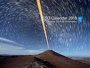 Cover of ESO calendar 2018