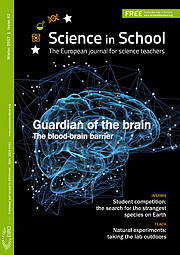 Portada de la edición 42 de Science in School