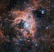 The Tarantula Nebula region imaged with HAWK-I without adaptive optics