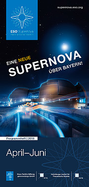 Image of front cover of programme (German version)