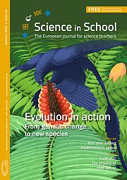 Front cover of Science in School issue 44