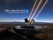 ESO Calendar 2019 cover