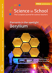 Capa da Science in School nº 45