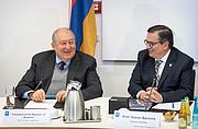 Presidente da Armênia visita Sede do ESO