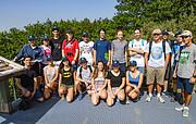 Teilnehmer des Sommer-AstroCamps