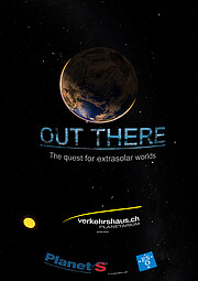 """Poster """"Out There"""" (versão inglesa)"""