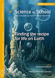 Front cover of Science in School 49
