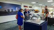 ESO Director General shows ELT model to María Noel Vaeza of UN Women