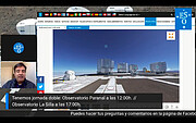 Screenshot of Virtual guided tour of Paranal Observatory