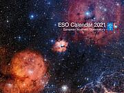 Deckblatt des ESO-Kalenders 2021