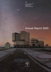 Capa do Relatório Anual do ESO de 2020