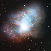 La exhibición de CONCERTO comienza con una nueva visión de la Nebulosa del Cangrejo
