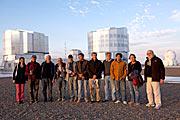 Destacados científicos internacionales visitan Paranal en el marco del Congreso del Futuro