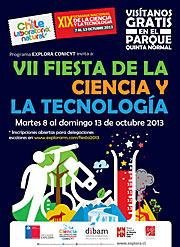 """Afiche oficial de """"Fiesta Chile: Laboratorio Natural"""""""