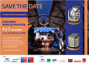 Poster of II edition of the Seminar on Astro-Engineering