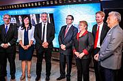La Presidenta de Chile, Michelle Bachelet inaugura Vía Suecia