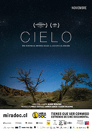 Afiche del documental CIELO