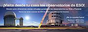 Imagen promocional visita virtual al Observatorio Paranal
