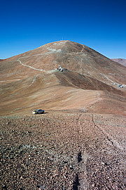 O monte Armazones