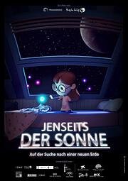 """""""Jenseits der Sonne"""" poster"""