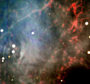 Centre of the Crab Nebula