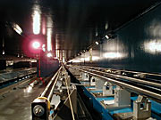 VLTI Delay Lines at the Interferometric Tunnel