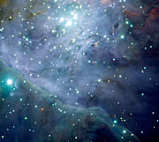 The Orion Nebula: The jewel in the sword