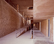 Ramps inside the Residencia.