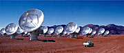 "Joint Construction of the Giant Radio Telescope ""ALMA"" in Chile"