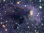 Head of column No. 1 in Eagle Nebula