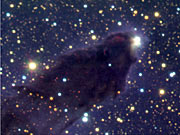 Head of column No. 2 in Eagle Nebula